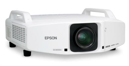 EPSON EB-Z8350W 3LCD projector with 8.500 colorful lumens / 25 hours only